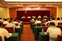2013年7月18日二广高速公路项目在连州召开第二阶段劳动竞赛誓师大会